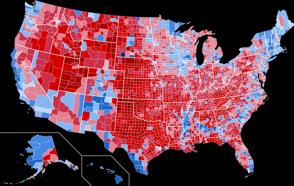 Donald Trump Warns Of Voter Fraud Voting Heat Map Sizzling Hot