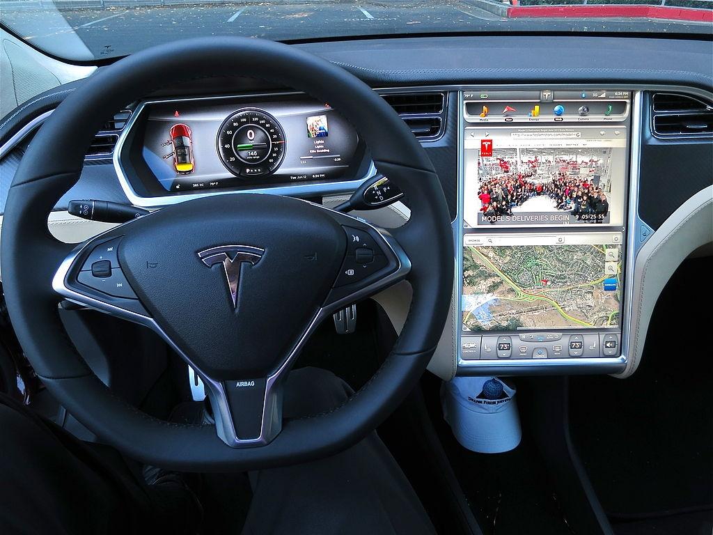 tesla model 3 dashboard the same as model s will have better range