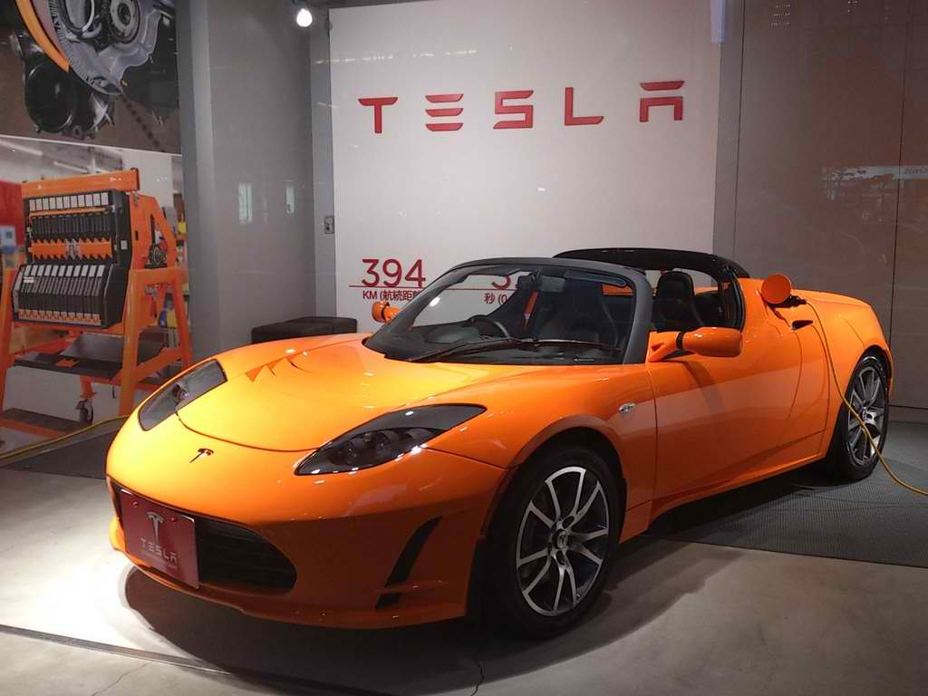 Japanese Electric Super Car Takes On Tesla Roadsters 0