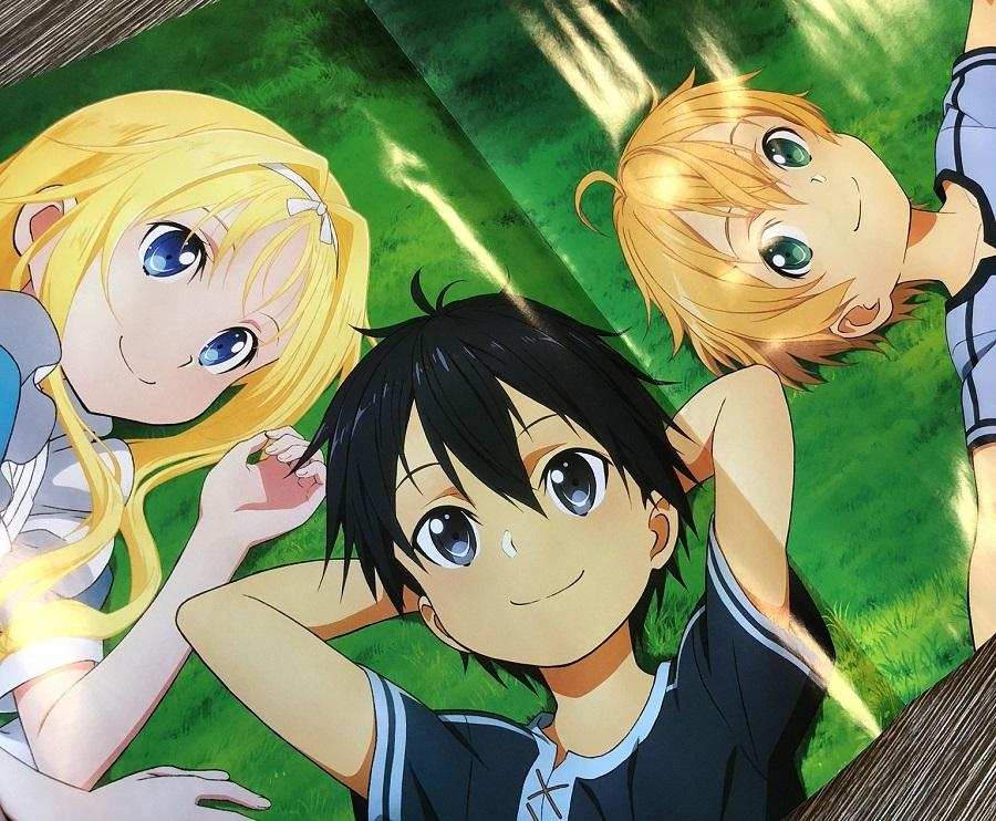 Sao Rath sword art online' season 3 just came out with an awesome poster and