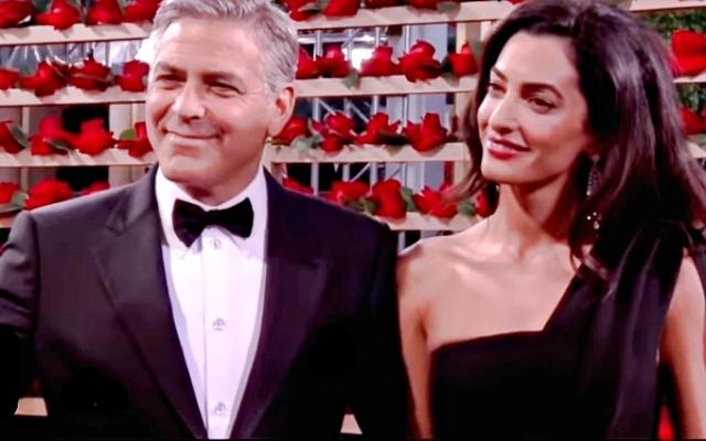 George Clooney, Amal A...