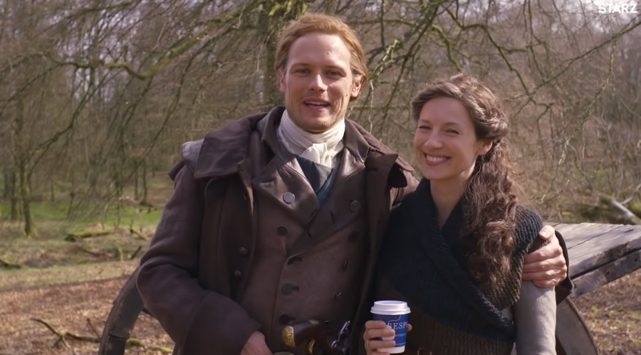 Sam Heughan, Caitriona Balfe's romance on TV continues with