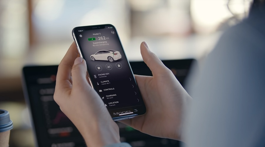 Key Fob App >> Tesla Model 3 Mobile App Issue Causes Brief Inconvenience To