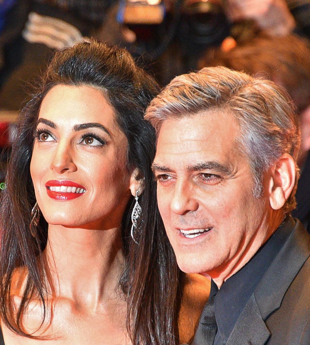 George Clooney, Amal C...